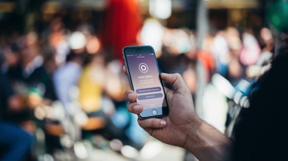 Verbindung von Beacons und Center App